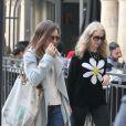 Exclusif - Lily Collins et sa mère Jill Tavelman vont au cinéma le jour de la fête des mères à Los Angeles, le 14 mai 2017. © CPA/Bestimage14/05/2017 - Los Angeles