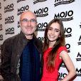 Phil Collins et sa fille Lily le 16 juin 2008