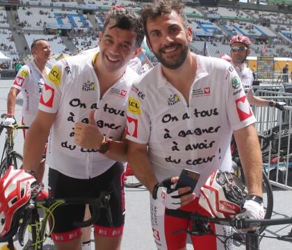 Stéphane Plaza et Laurent Ournac : Epuisés mais heureux face à Florent Manaudou