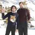 Eric Metzger et Quentin Margot lors du 20e Festival du film de comédie à l'Alpe d'Huez, France, le 19 janvier 2017. © Christophe Aubert via Bestimage