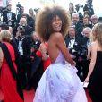 """Tina Kunakey - Montée des marches du film """"Les proies"""" lors du 70ème Festival International du Film de Cannes. Le 24 mai 2017. © Borde-Jacovides-Moreau / Bestimage"""