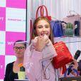 """Scarlet Rose Stallone - Lancement de la campagne publicitaire """"Millennial Sisters"""" par Samantha Vega à Tokyo, le 26 juillet 2017."""