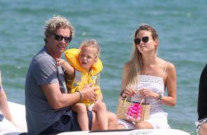Natasha Poly : En vacances en famille à Saint-Tropez, le top model s'éclate