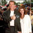 Arnold Schwarzenegger et Maria Shriver en Autriche en 1997