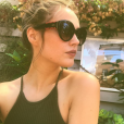 Camille Lou en Italie le 26 juillet 2017.