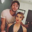 Camille Lou et son amoureux Gabriele Beddoni - Photo publiée sur Instagram en novembre 2016