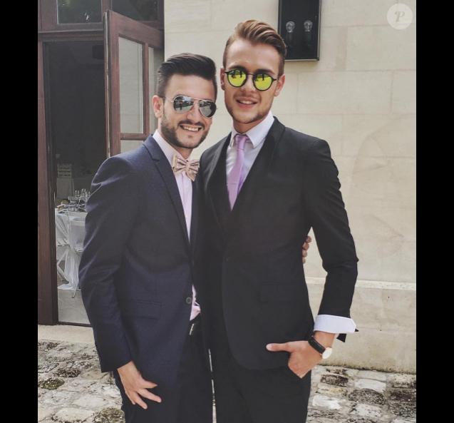 Maxim Assenza et Michal Kwiatkowski sur une photo publiée sur Instagram le 16 juillet 2017
