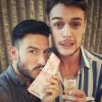 Maxim Assenza et Michal Kwiatkowski sur une photo publiée sur Instagram le 5 juillet 2017