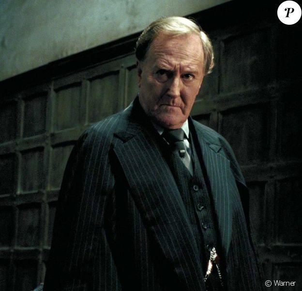 Robert Hardy incarnait Cornelius Fudge dans la saga Harry Potter.