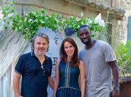 Omar Sy : Toujours présent pour ses amis Laetitia et Vincent Labrune !