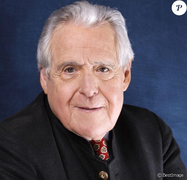 Christian Millau, portrait réalisé à Paris en février 2013. Le journaliste, écrivain et critique gastronomique à l'origine du guide Gault & Millau est mort à l'âge de 88 ans le 5 août 2017.