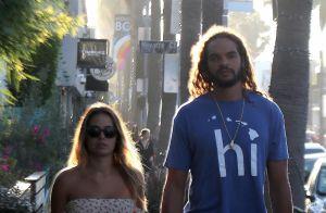 Joakim Noah : En vacances avec sa compagne et leur fille
