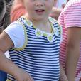 Mia Tindall lors du Festival of British Eventing à Gatcombe Park à Minchinhampton, le 6 août 2017.