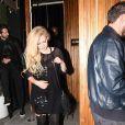 """""""Avril Lavigne et J.R. Rotem quittent The Nice Guy à West Hollywood. Le 4 août 2017."""""""