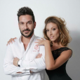 Denny Imbroisi (Top Chef 3) et Silvia Notargiacomo (DALS), amoureux, septembre 2015.