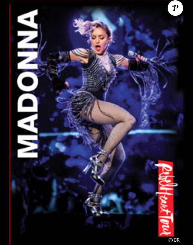 DVD du dernier spectacle de Madonna, le Rebel Heart Tour, lequel est attendu le 15 septembre 2017 en magasins.