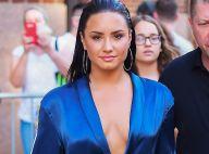Demi Lovato : Décolleté plongeant et sans soutien-gorge pour une soirée glamour
