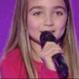 """Angelina dans """"The Voice Kids 4"""" le 19 août 2017."""