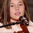 """Pauline dans """"The Voice Kids 4"""" sur TF1, le 19 août 2017."""