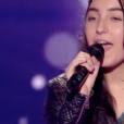 """Monica dans """"The Voice Kids 4"""" sur TF1, le 19 août 2017."""