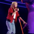 """Morgane dans """"The Voice Kids 4"""" le 19 août 2017 sur TF1."""