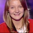 """Morgane dans """"The Voice Kids 4"""" sur TF1, le 19 août 2017."""