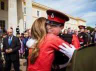 Rania de Jordanie : Emue devant son fils Hussein devenu grand, à Sandhurst