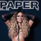 Mariah Carey : Gaulée en plein abus de Photoshop pour la couv' de Paper !