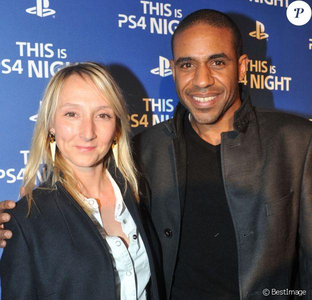 Audrey Lamy et Loup-Denis Elion - Soirée de lancement de la console Playstation 4 Sony au centre culturel alternatif Electric à Paris le 28 novembre 2013.
