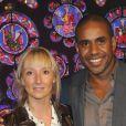 """Loup-Denis Elion et Audrey Lamy - Générale de la comédie musicale """"Sister Act"""" à Paris, le 20 septembre 2012."""