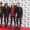 5 Seconds of Summer (Luke Hemmings, Michael Clifford, Calum Hood, Ashton Irwin) - Tapis rouge des BBC Teen Awards à Londres, le 8 novembre 2015.