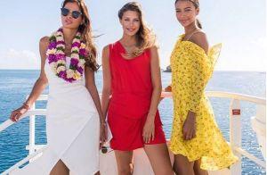 Miss France : Camille Cerf, Malika Ménard et Flora Coquerel réunies au soleil