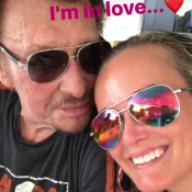 "Laeticia Hallyday ""in love"" de Johnny... Sa grand-mère Elyette ""best mamie ever"""