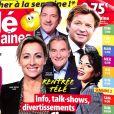 """Magazine """"Télé 2 semaines"""" en kiosques le 28 août 2017."""
