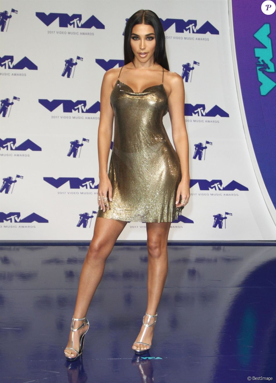 Chantel Jeffries à la soirée MTV Video Music Awards 2017 au Forum à Inglewood, le 27 août 2017  People at the 2017 MTV Video Music Awards held at the Forum. August 27, 201727/08/2017 - Los Angeles