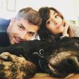 Jesse Giddings et Hannah Simone sur une photo publiée sur Instagram fin janvier 2016