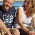 """Victor et Nathalie - """"L'amour est dans le pré 2017"""" sur M6. Le 11 septembre 2017."""