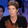 """Christine Angot dans """"On n'est pas couché"""" sur France 2. Le 3 septembre 2017."""