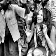 Meghan Markle, photo d'une de ses visites au Rwanda en tant qu'ambassadrice de World Vision Canada, issue de son compte Instagram.