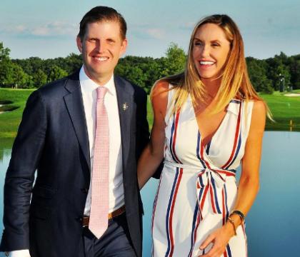 Lara Trump très enceinte et sportive, la belle-fille de Donald s'impatiente