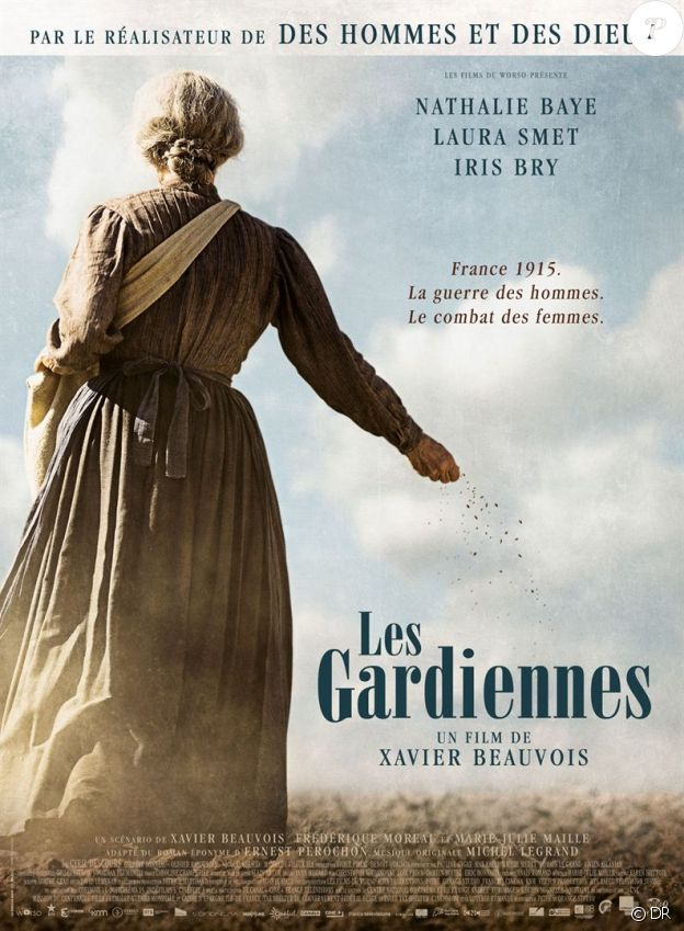 Affiche du film Les Gardiennes, en salles le 6 décmebre 2017