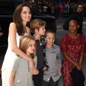 Angelina Jolie : Nouveau tapis rouge complice avec ses enfants à Toronto
