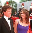 Liz Hurley et Hugh Grant - Festival de Cannes 1997