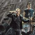 Bono - Le group U2 en concert lors du 'The Joshua Tree Tour 2017' au US Bank Stadium à Minneapolis dans l'État du Minnesota, le 9 septembre 2017