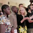 Madonna a inauguré le Mercy James Institute for Pediatric Surgery and Intensive Care au Malawi, le 11 juillet 2017