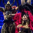 Le Rebel Heart Tour de Madonna à l'AccorHotels Arena (Bercy) à Paris, le 9 décembre 2015.