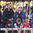 Heidi Klum et sa maman adorent organiser des après-midi avec les trois petits, afin qu'ils profitent de leur grand-mère ! 30/11/08