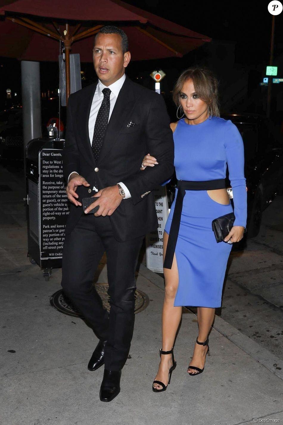 Jennifer Lopez et son compagnon Alex Rodriguez sont allés ...