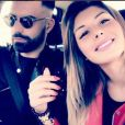 "Sarah Lopez des ""Anges 9"" et Vincent Queijo en couple, Instagram, 2017"