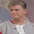 Mark Walton lors des débuts du groupe Boyzone en 1993.